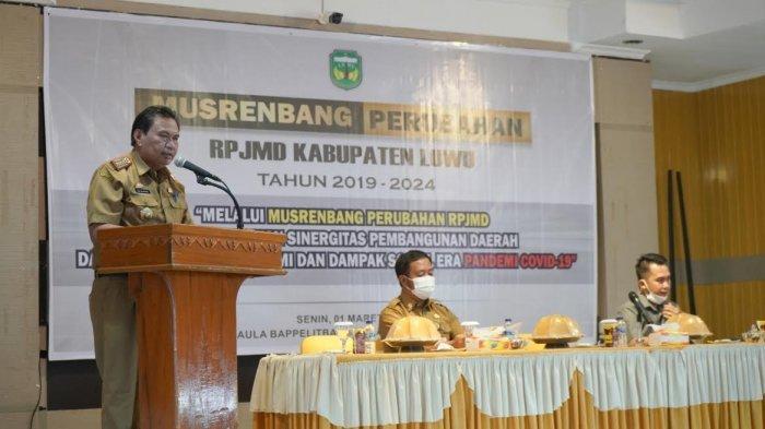 Musrenbang, Luwu Kini Fokus Pada Pemulihan Ekonomi dan Dampak Sosial Pandemi Covid-19