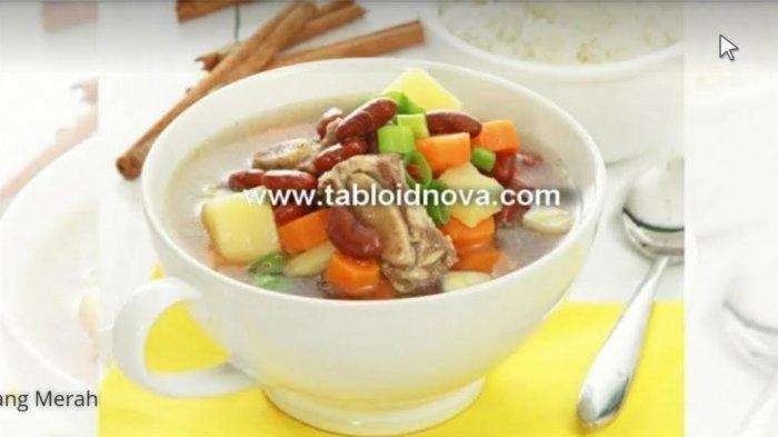 Resep Sup Iga Kacang Merah, Cocok Untuk Sajian Lebaran Idul Fitri