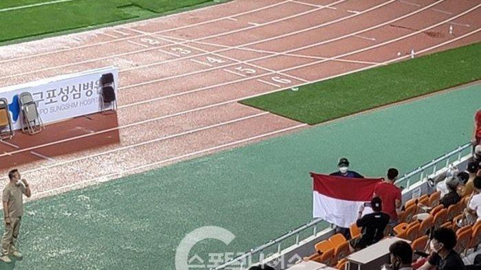 Demi Asnawi, Puluhan Suporter Indonesia di Laga Ansan Greeners Vs Busan IPark Disorot Media Korsel