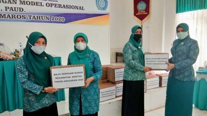 Suraida Hatta Kumpul Tim PKK Maros, Ingatkan Tugas-tugas Soal KB hingga Pecegahan Gizi Buruk Bayi