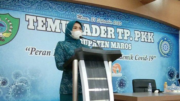 Perintah Istri Hatta Rahman ke Istri Camat, Lurah dan Kades di Maros Selama Pandemi Covid-19