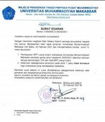 Mahasiswa Unismuh Makassar Dapat Potongan Uang Kuliah 10 Persen