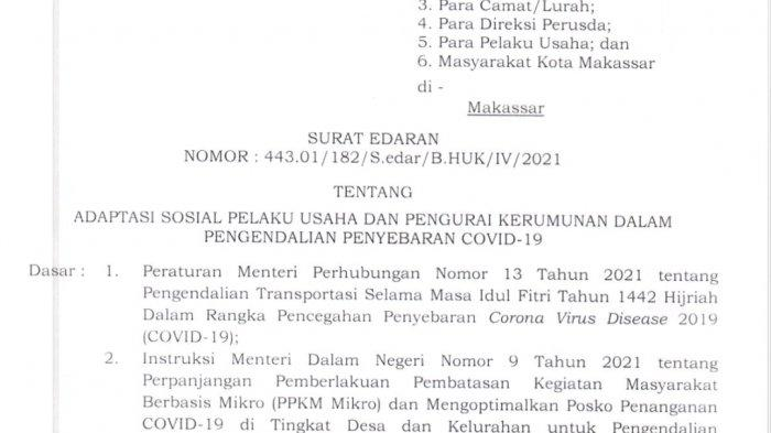 Besok, Danny Pomanto Kumpulkan Pemilik Usaha di Balaikota Makassar