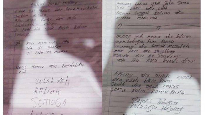 Sepasang Kekasih di Toraja Utara Tinggalkan Surat Sebelum Gantung Diri, Minta Dimakamkan Satu Tempat