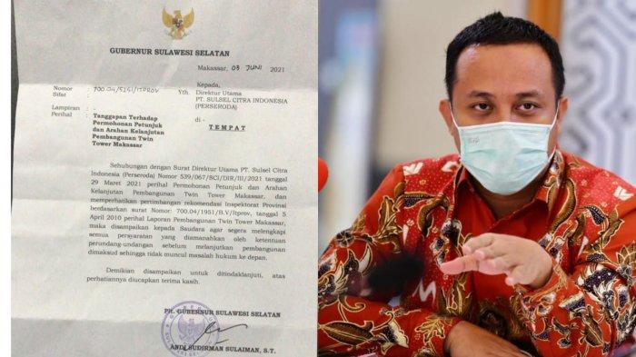 Beredar Surat Soal Twin Tower Makassar ke Perseroda, Taufik Fachrudin: Insya Allah Siap