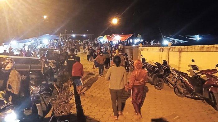 Mulai Rusak, Bua Rest Area di Toraja Utara Alih Fungsi Menjadi Pasar