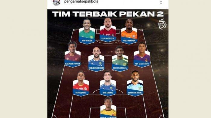 Syaiful dan Ilham Udin Armaiyn Masuk 11 Pemain Terbaik Liga 1 Pekan Kedua
