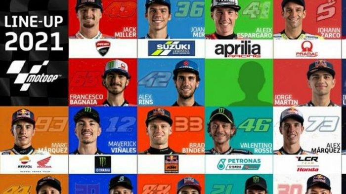 Jadwal MotoGP 2021, Valentino Rossi Marc Marquez dkk Bakal Tampil di MotoGP Indonesia?