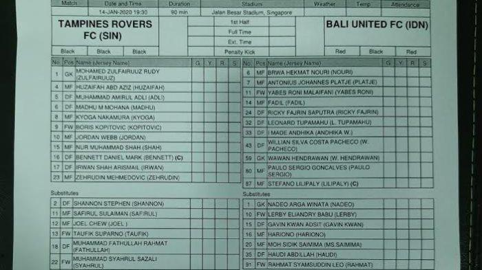 Rahmat Awali Kiprah dengan Bali United dari Bangku Cadangan