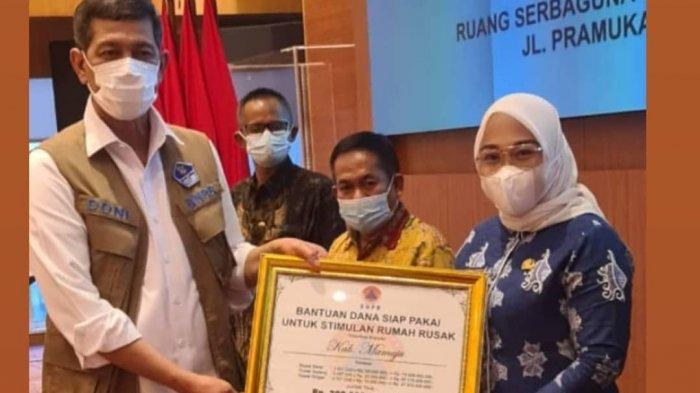 Mamuju Terima Rp 209,5 M Bantuan Stimulan Rumah Rusak Akibat Gempa Bumi