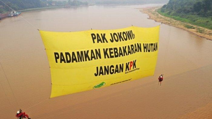 Sutradara hingga Greenpeace Minta Jokowi Tegas Soal Revisi UU KPK dan Kebakaran Hutan, Ini Pesannya?