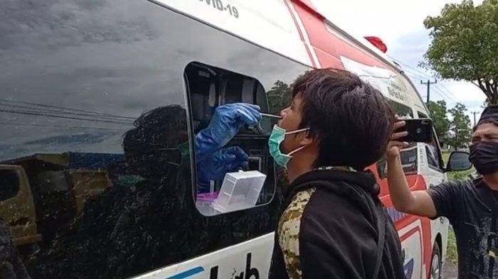 Berani Melintas di Jeneponto Siap-siap Jalani Swab Antigen