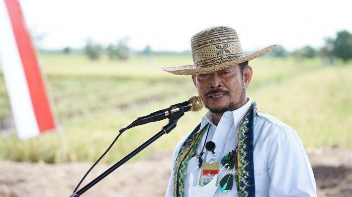 Mentan Syahrul Yasin Limpo Panen Padi di Food Estate Pulang Pisau Kalimantan Tengah - syahrul-yasin-limpo-3-1022021.jpg