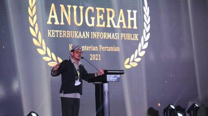 Mentan RI Syahrul Yasin Limpo Tekankan Pentingnya Data dan Informasi Publik