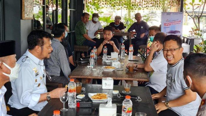 Ngopi Bareng Syahrul Yasin Limpo, Amir Uskara Sebut Tak Singgung Soal Politik