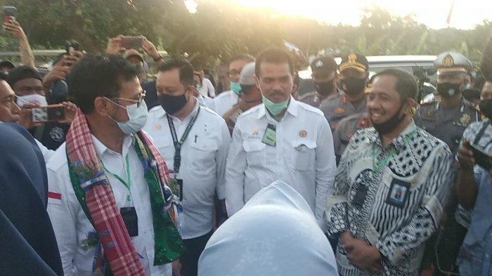 Rektor Unismuh Dampingi Mentan SYL Panen Raya Porang di Sidrap