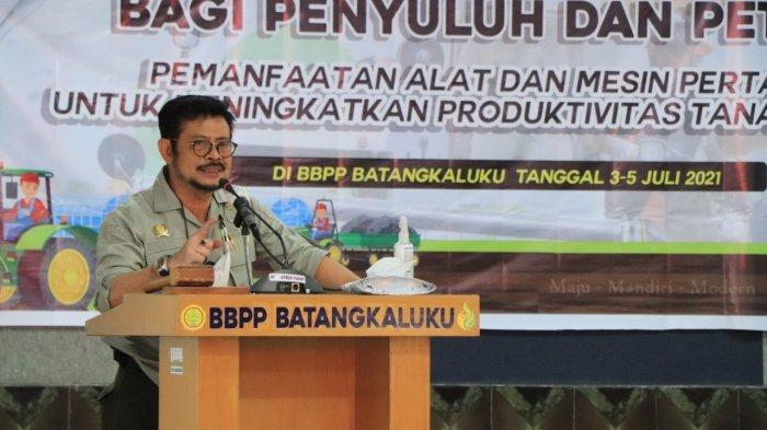 Syahrul Yasin Limpo Motivasi 11 Ribu Penyuluh Pertanian di Gowa