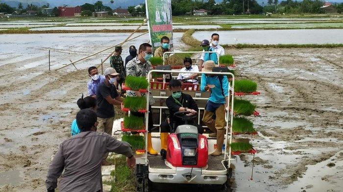 Pastikan Program Percepatan Penanaman Padi, Mentan Kunjungi Petani di Kabupaten Maros