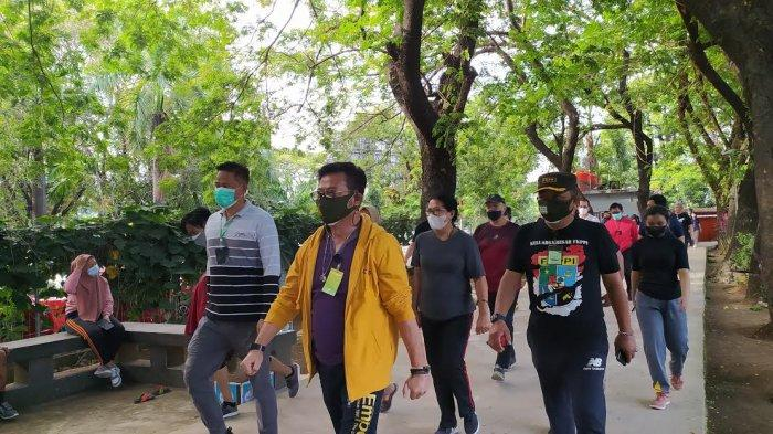 Mentan SYL Jalan 6 Putaran di Karebosi, Pengunjung Teriak 'Hidup Komandan'