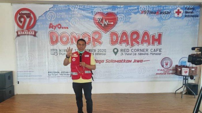 Deng Ical Apresiasi IKA 97 Makassar, Gelar Donor Darah di Red Corner Makassar