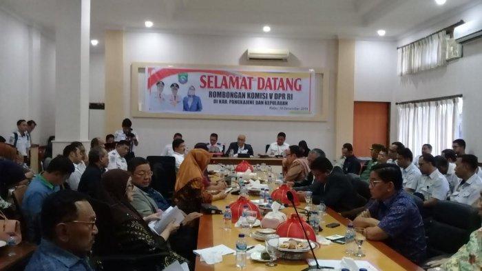 Pemkab Pangkep Tak Dilibatkan Tim Apresial, Syamsuddin Curhat ke Rombongan Komisi V DPR RI