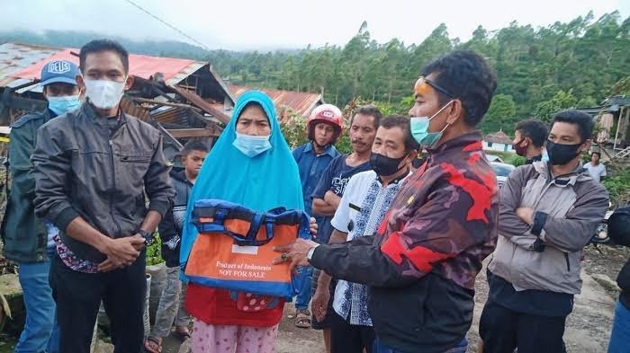 Pemilik Hadiri Hajatan Keluarga di Makassar, 4 Rumah Hangus Dilalap Api di Gunung Perak Sinjai