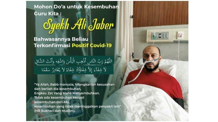 Inilah Makna Takdir yang Sebenarnya! Syekh Ali Jabeer Positif Covid-19 Padahal Disiplin Jaga Jarak