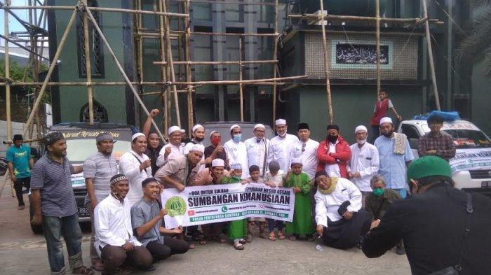 Syubban Assaid Makassar Bawa Sumbangan Kemanusiaan untuk Sulbar