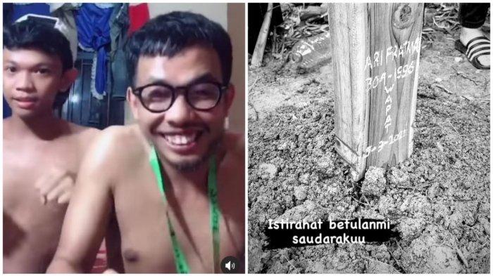 Syukri Al Gazali alias Chuke Sangat Sedih Ditinggal Ari Pratama Antar Hingga Liat Lahat di Maros