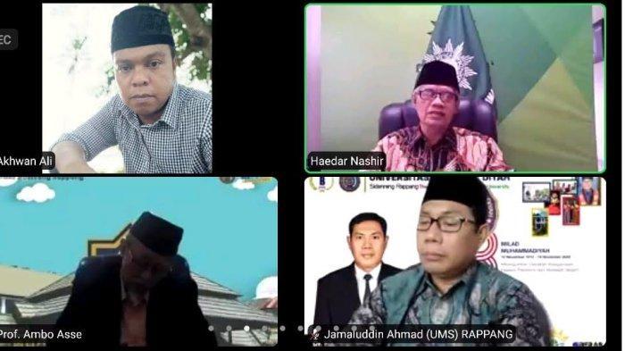 Milad ke-2, Prof Haedar Nashir Harap UMS Rappang Jadi Fasilitator Ummatan Washatan