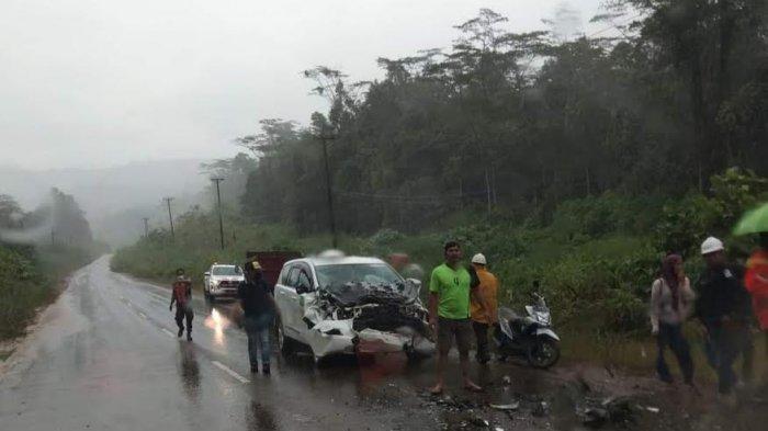 PT Vale Investigasi Tabrakan Mobil Libatkan Taxi Pengangkut Karyawannya di Gunung Hasan Sorowako