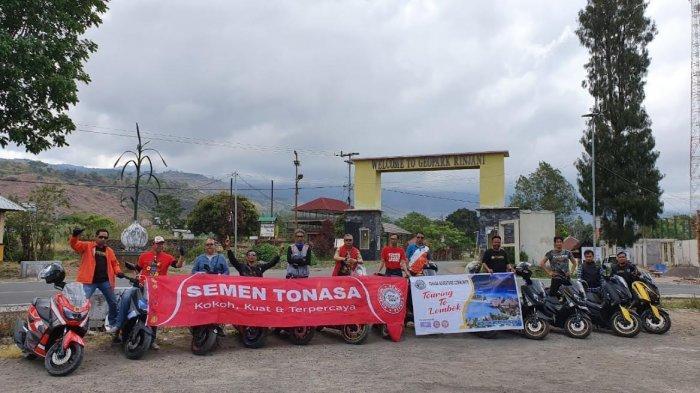 Kenalkan Produk Semen Tonasa, TAC Gelar Touring di Lombok
