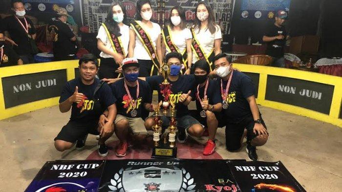 TSF Berhasil Harumkan Nama Sulsel sebagai Runner Up di Ajang Kontes Ayam NBF Cup Sidoarjo