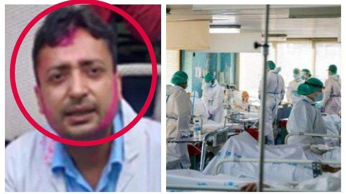 Tak Tahan dan Frustasi Tangani Pasien Covid-19 yang Mengganas, Dokter Muda di India Bunuh Diri