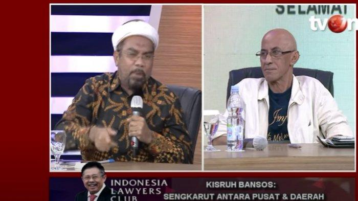 Serunya ILC TV One Semalam, Geisz Chalifah Diserang Ali Ngabalin Karena Bela Anies & Pojokkan Jokowi