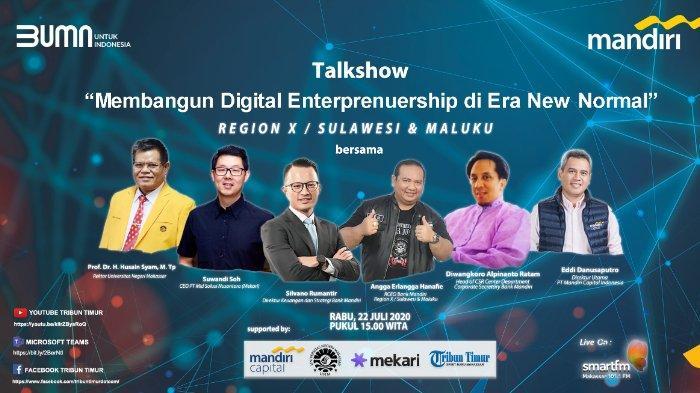 Bank Mandiri Tebar Virus Digital Entrepreneurship ke Generasi Muda Makassar