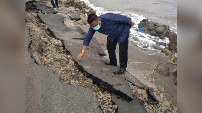 Talud Rp6,6 Miliar di Pantai Merpati Bulukumba Roboh Lagi