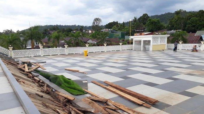 Taman Andi Nyiwi Park Luwu Timur Sementara Diperbaiki, Hamris Janji Rampung Pekan Ini