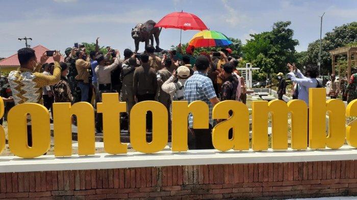 Ikon Baru Jeneponto 'Macanga Ri Bontoramba' Habiskan Anggaran Rp123 Juta