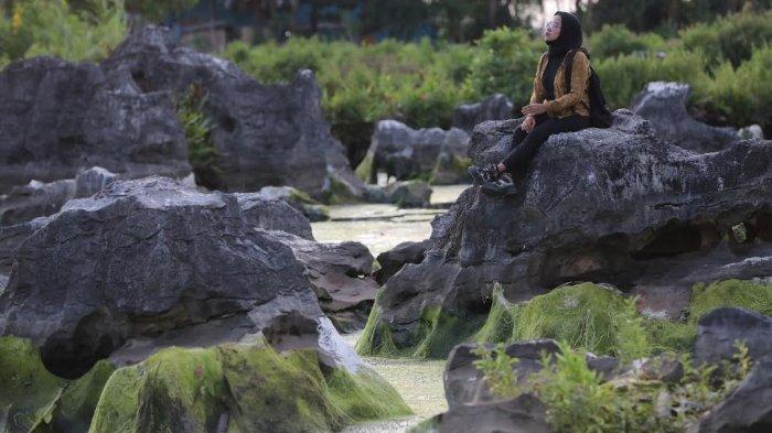 Setitik 'Surga' Tuhan di Taman Batu Rammang Rammang Maros