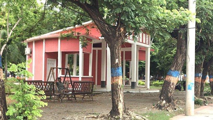 Dianggarkan Rp179 Juta, Pos Jaga Taman Kota Bulukumba Tidak Difungsikan