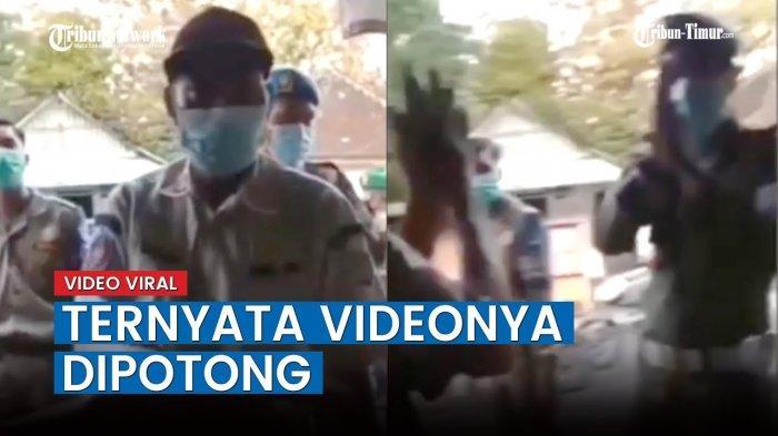 VIDEO Viral Satpol PP Dibully Netizen Gegara Tambal Ban Online, Rupanya Videonya Dipotong
