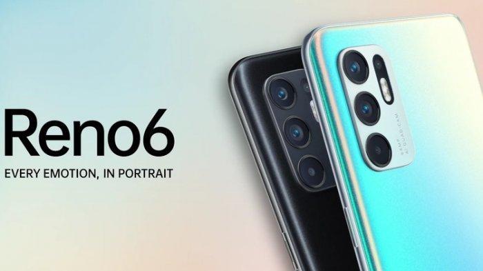 RAM 8 GB, Oppo Terbaru Reno6 Punya Fitur Bokeh Otomatis saat Rekam Video