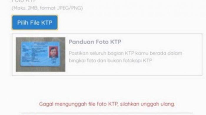 Cara Mudah Upload Foto KTP saat Daftar Kartu Prakerja Gelombang 12 di www.prakerja.go.id