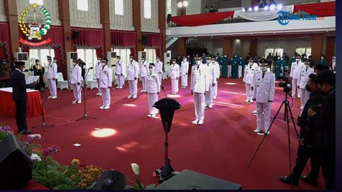 Hari Pertama Kepala Daerah Berkantor, Chaidir 'Jemur' ASN, Muchtar-Edy Prihatin Lihat Kantor Bupati