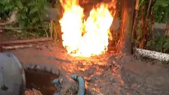 Diduga Mengandung Minyak, Polisi Periksa Cairan Sumur Bor di Gowa