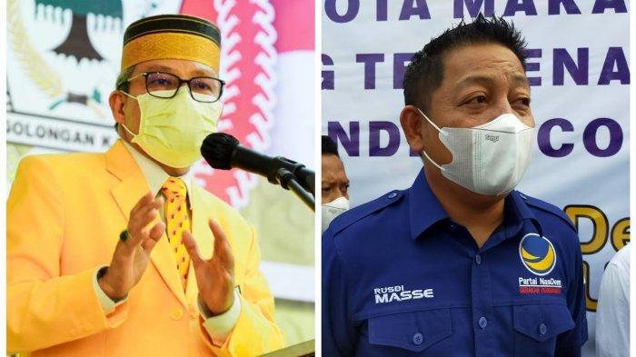 Rivalitas Golkar-Nasdem: RMS Yakin Menang Pemilu, Taufan Pawe Fokus Konsolidasi Musda