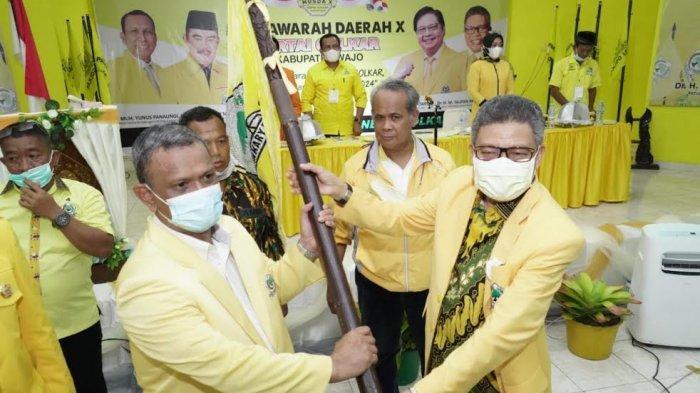 Gagal Jadi Bupati, Baso Rahmanuddin Terpilih Ketua Golkar Wajo