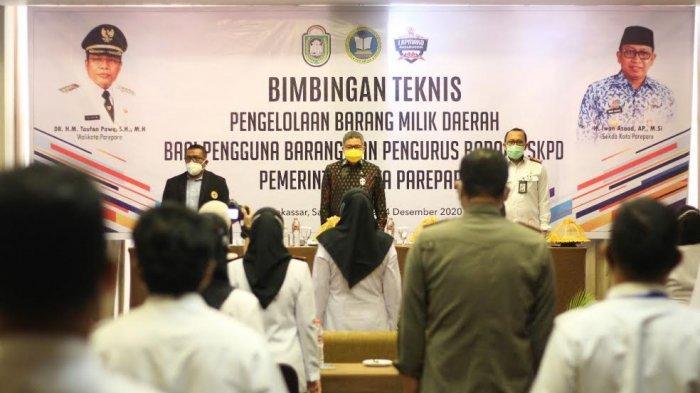 Bimtek di Makassar, Wali Kota Parepare Mulai Sosialisasikan Transaksi Digital