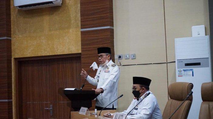 Gelar Rapat Monev Pembangunan Triwulan I, Taufan Pawe Ingatkan Pejabatnya Pahami Regulasi